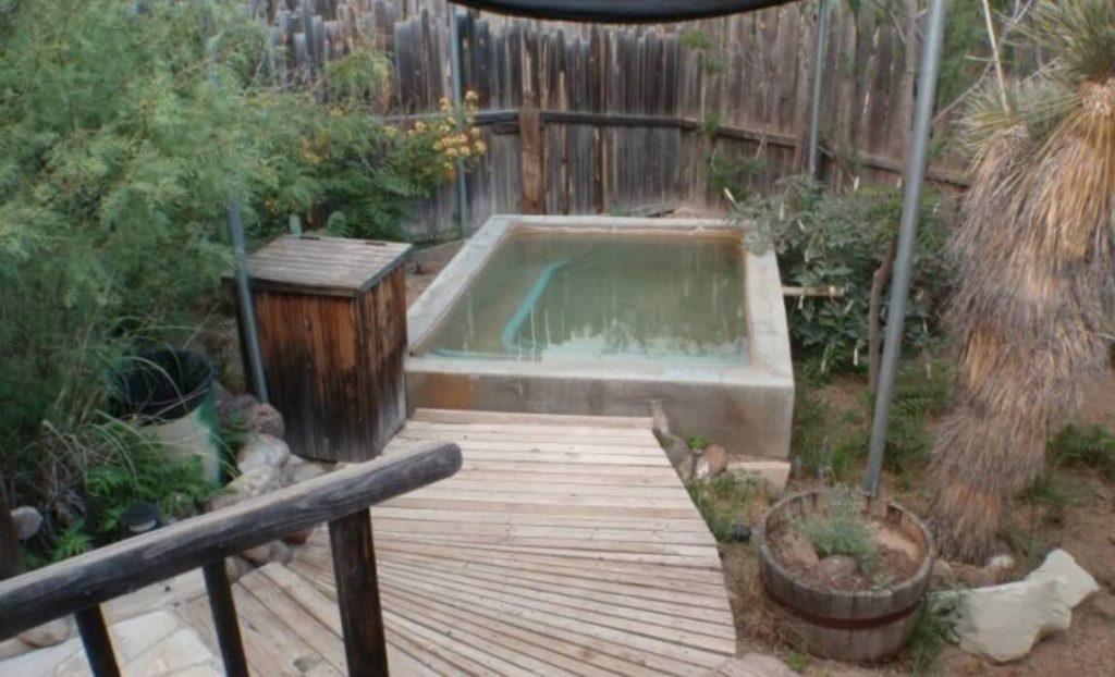 Pool at Faywood Hot Springs