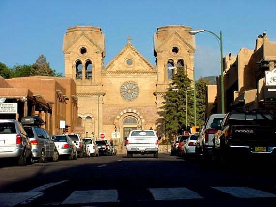 Saint Francis Cathedral in Santa Fe
