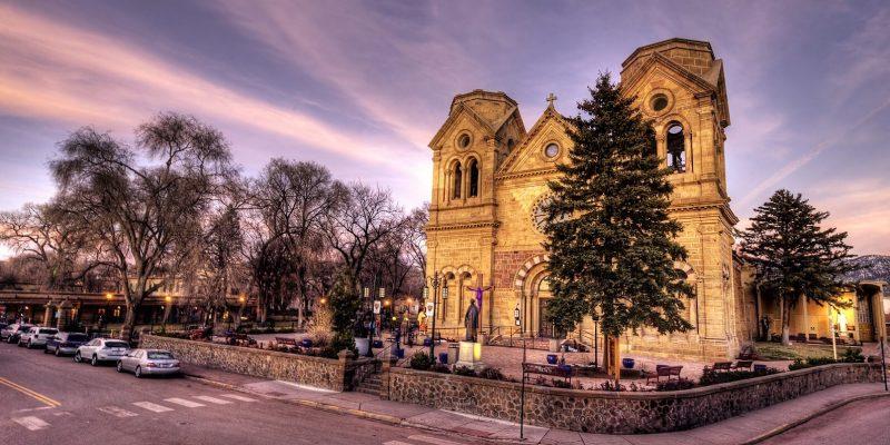 Basilica of St Francis in Santa Fe